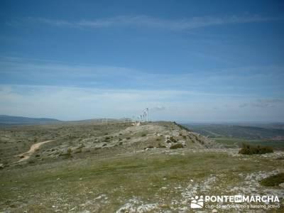 Barranco de Borbocid - molinos de viento; trekking material; material trekking